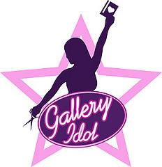Gallery idol logo