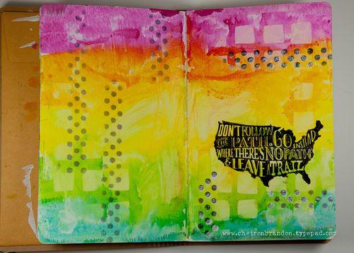 HH Art Journal by Cheiron Brandon_