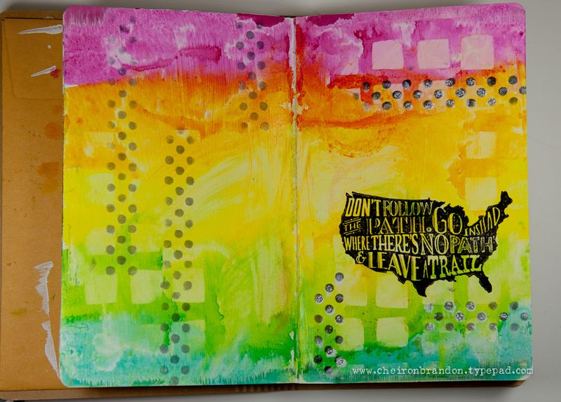 HH Art Journal by Cheiron Brandon_