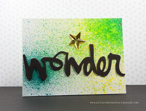 Wonder by Cheiron Brandon_