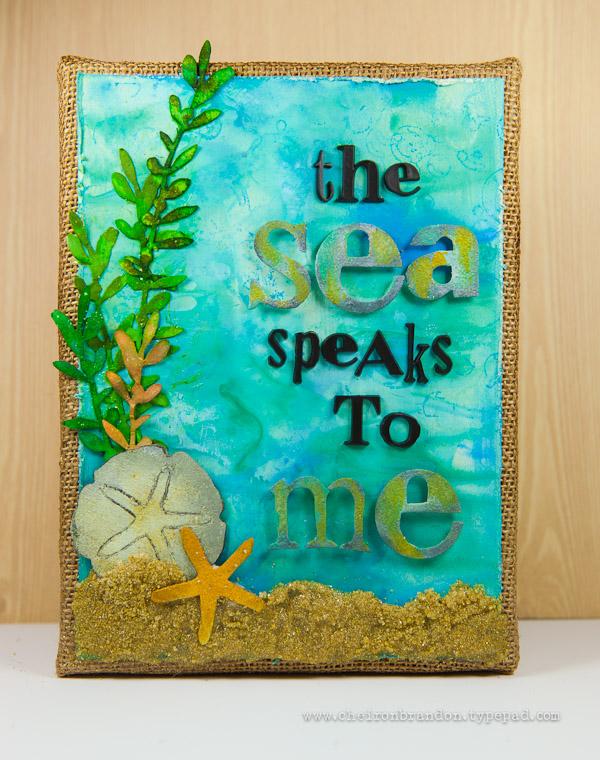 Sea speaks to me by Cheiron Brandon_