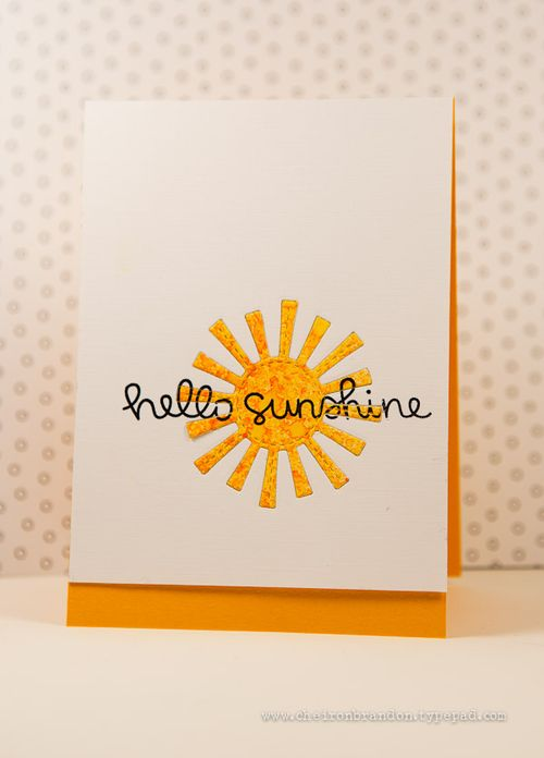 Hello sunshine lf  by Cheiron Brandon