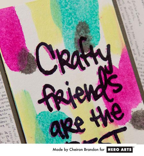 Crafty friends sneak by Cheiron Brandon