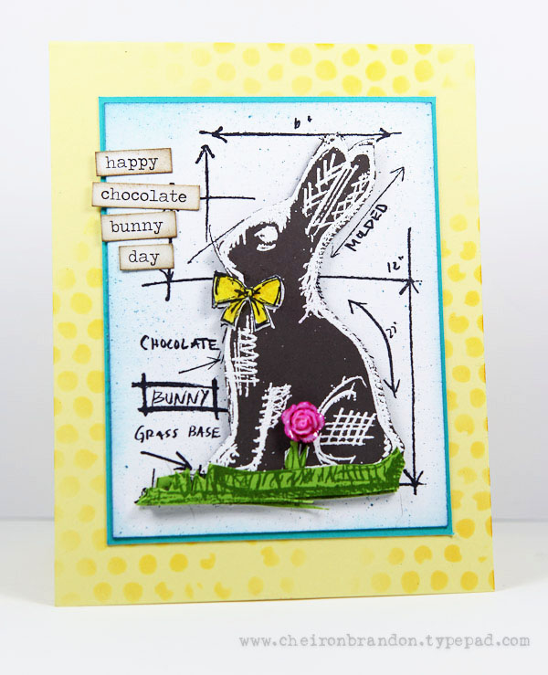 Chocolate bunny day by Cheiron Brandon