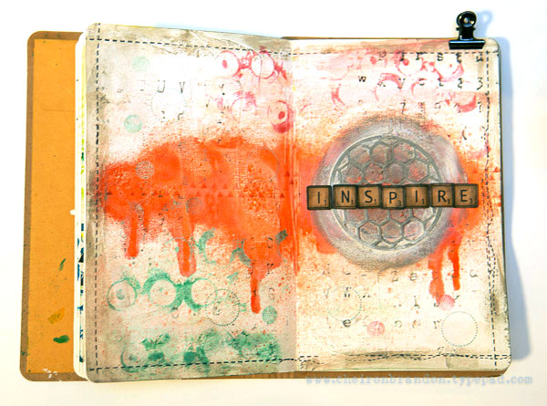 Inspire journal page by cheiron brandon_