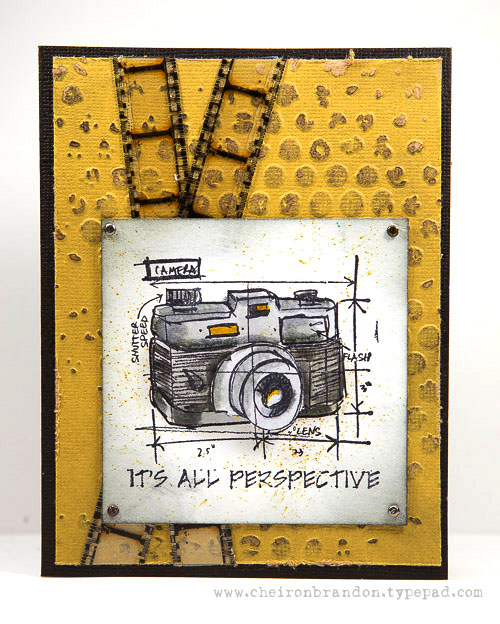 Cheiron- its all perspective STAMPTEMBER