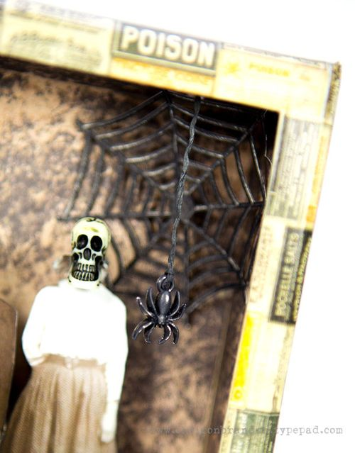 Wicked Spooky Shadow Box close 2 by Cheiron Brandon_