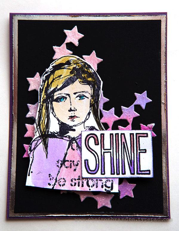 Shine card by cheiron_