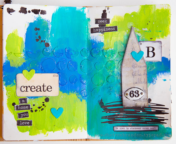 Cheiron- home you love art journal