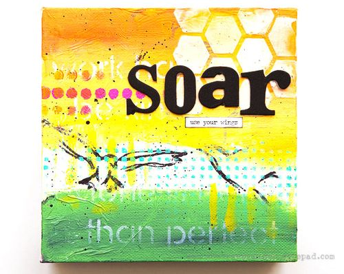 Cheiron- soar mini inspiration canvas