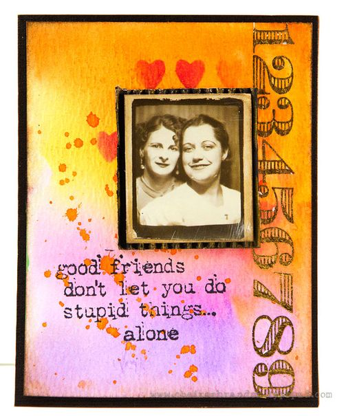 Cheiron- good friends card_