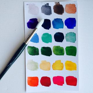 Watercolor mediums
