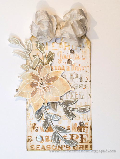 Cheiron- winter flowers tag