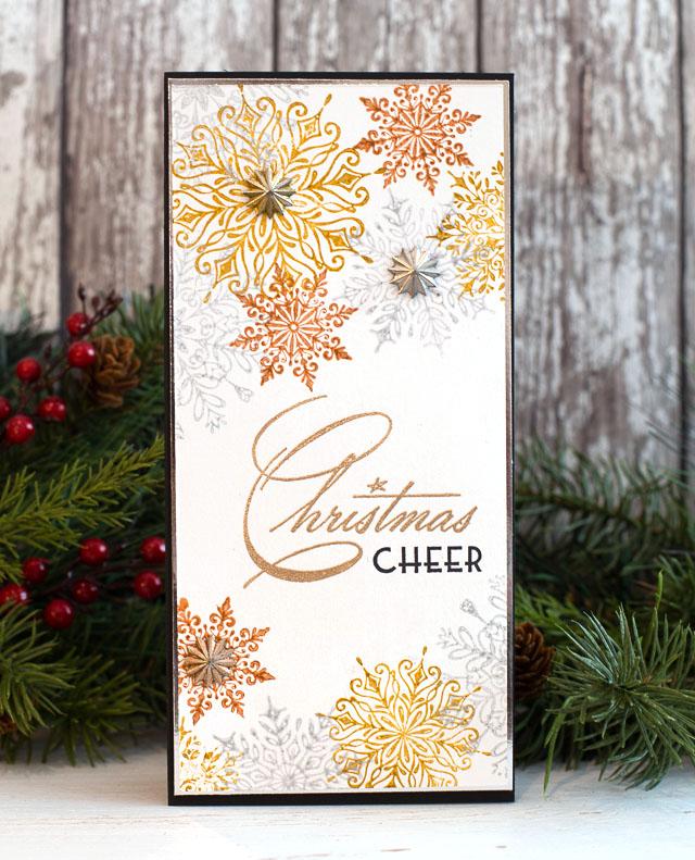 Cheiron- christmas cheer snowflakes_