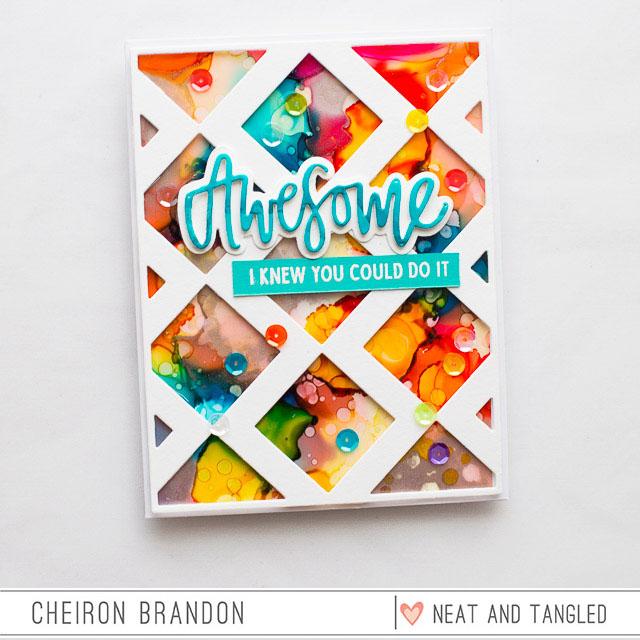 Cheiron- Inlaid Squares die_