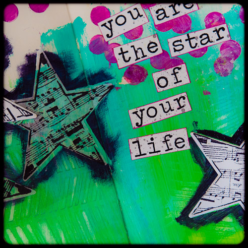You are the star close up by Cheiron_