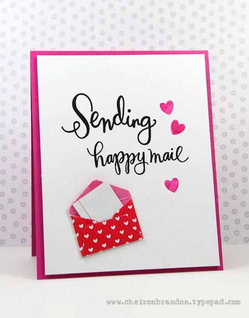 Sending Happy Mail by Cheiron Brandon