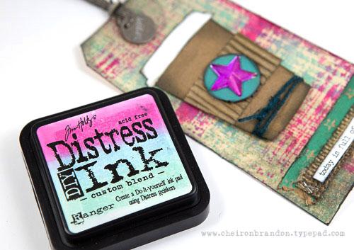 Custom ink pad closeup by cheiron_