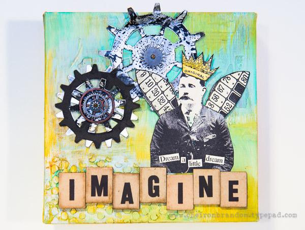 Cheiron- imagine mini inspiration canvas
