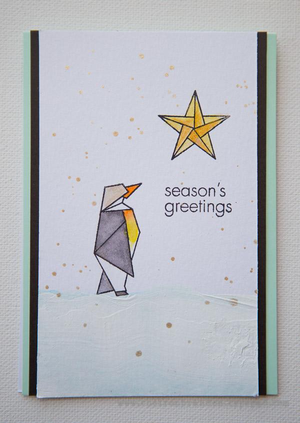 Cheiron- hero arts holiday hop penguin
