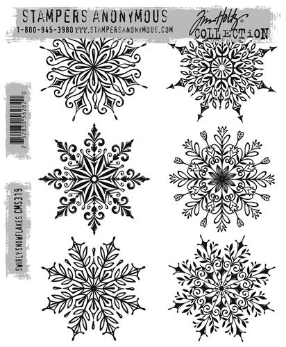 TH swirly snowflakes