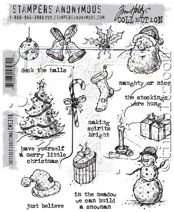 Tattered christmas