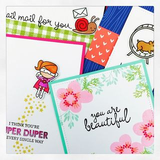 Sweet and Simple Stamped Cards