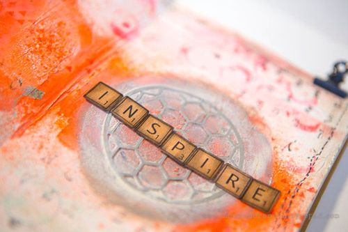 Inspire journal page closeup1  by cheiron brandon_