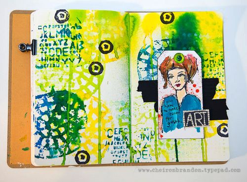 Mist journal page by cheiron brandon_