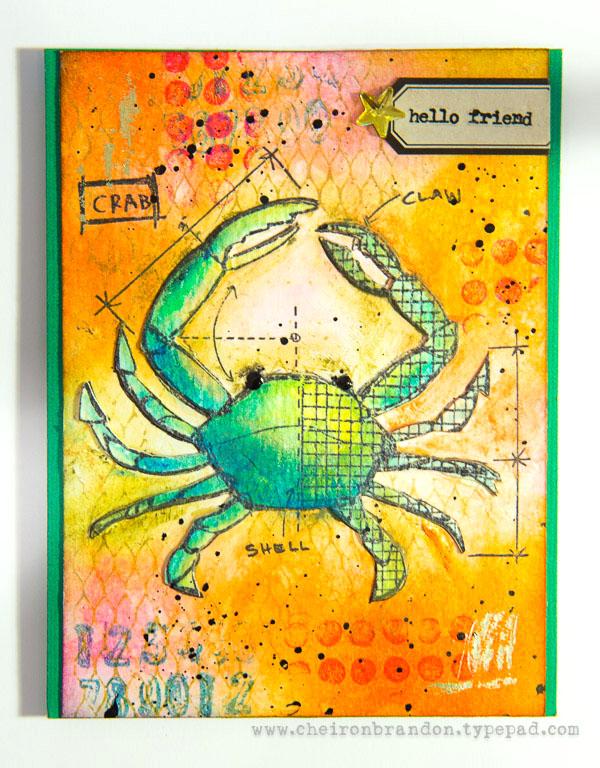 Cheiron- crab hello friend_