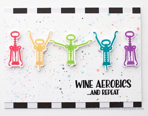 Cheiron- STAMPtember wine aerobics
