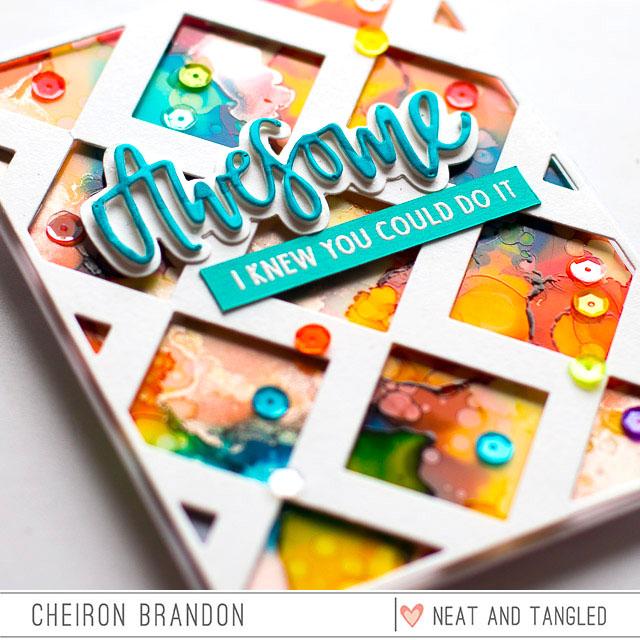 Cheiron- Inlaid Squares die close