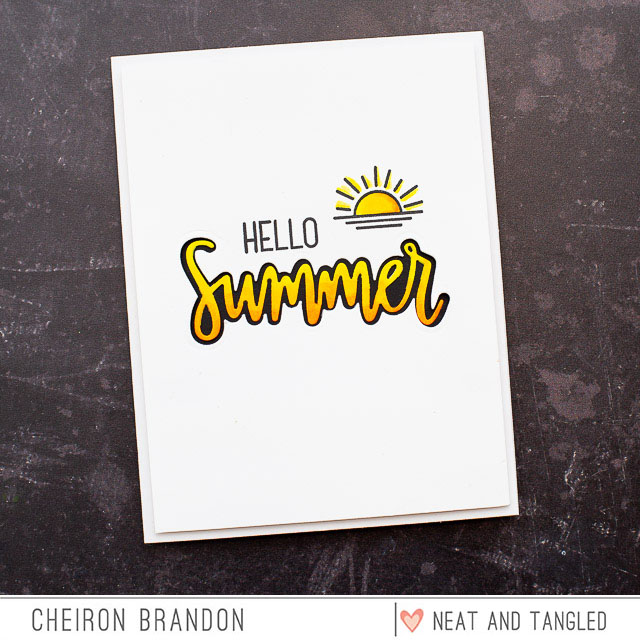 Cheiron hello summer