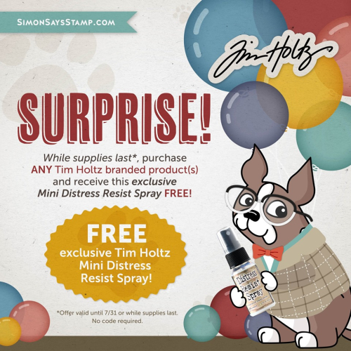 Tim Holtz Free Gift with TH purchase