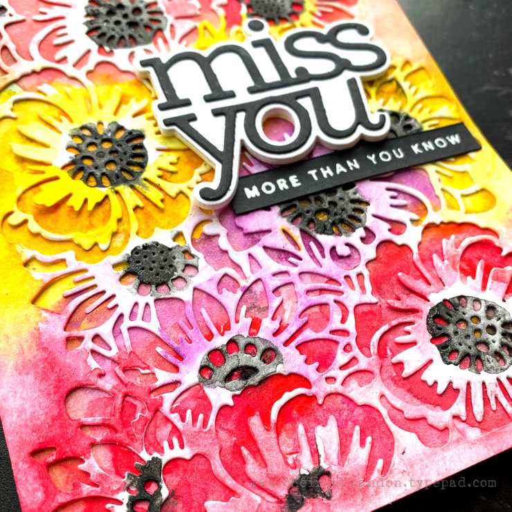 Tim Holtz Bouquet CZ Miss You by Cheiron_2