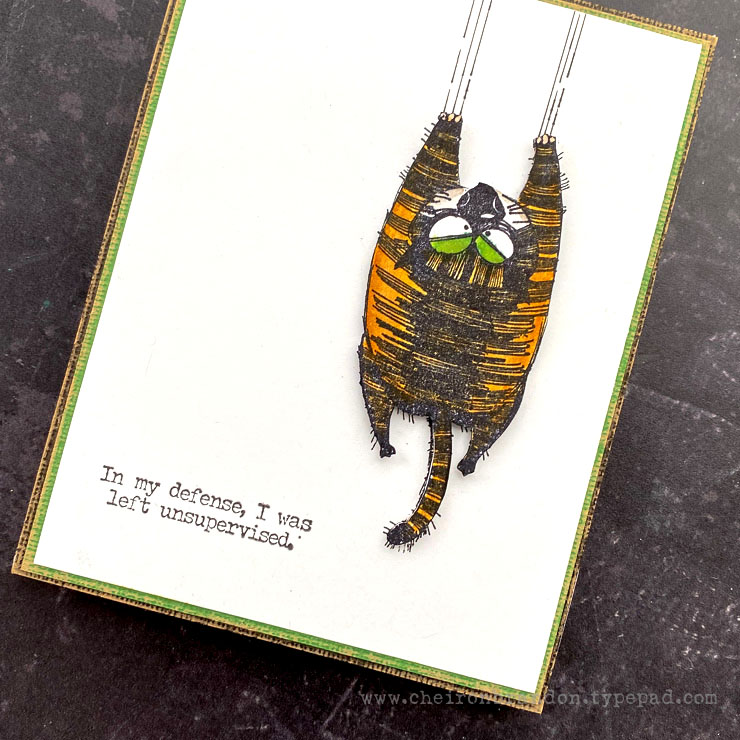 Tim Holtz Snarky Cat by Cheiron 2-2