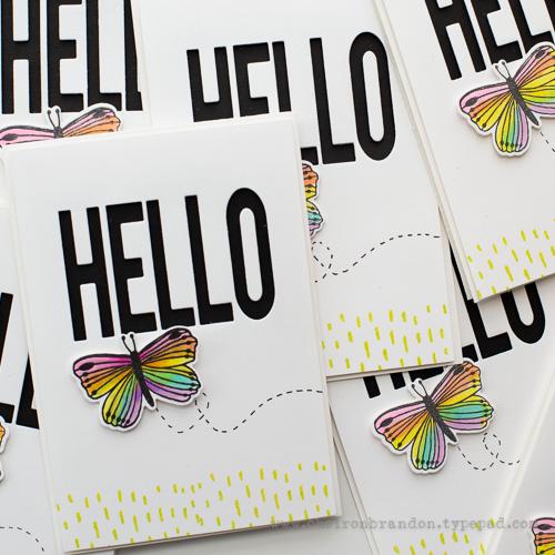 Cheiron flora fauna butterfly hello 2