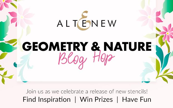 Altenew September 2020 Stencils Blog Hop