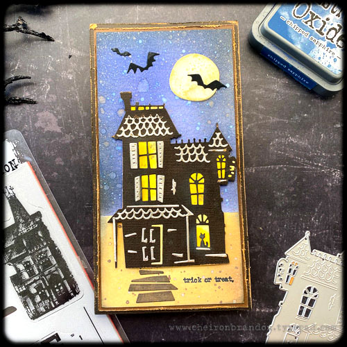cheiron brandon designs: tim holtz: sizzix seasonal makes halloween