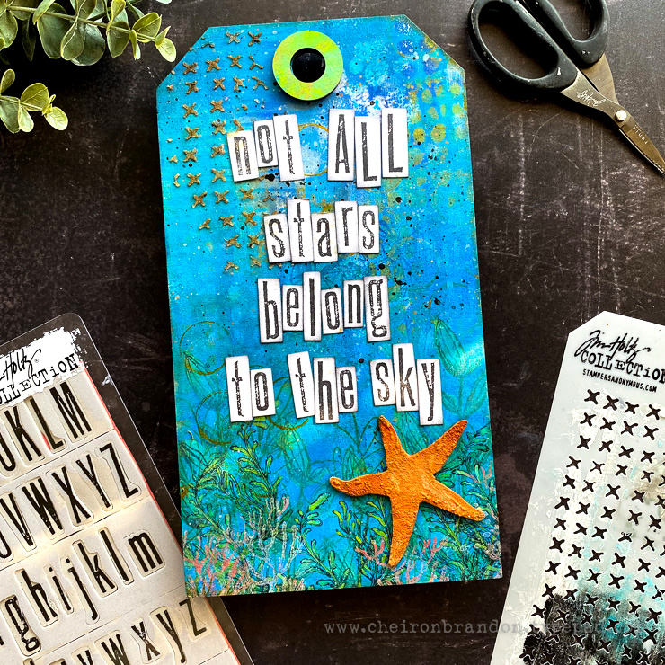 Cheiron tim holtz not all stars_