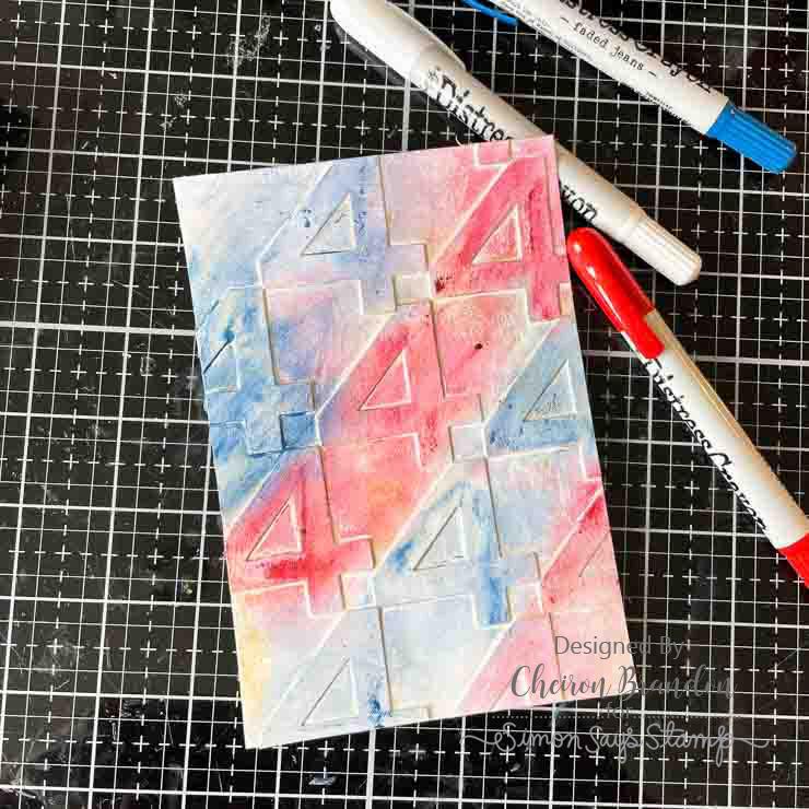 Cheiron red white blue 1