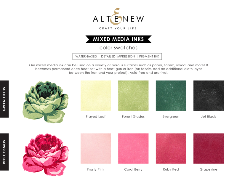 Mixed Media Inks_Swatches _ Product Info